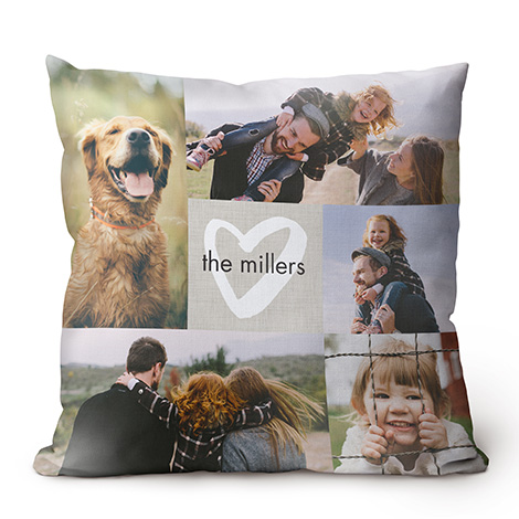Single-Sided Custom Throw Pillow, 18x18