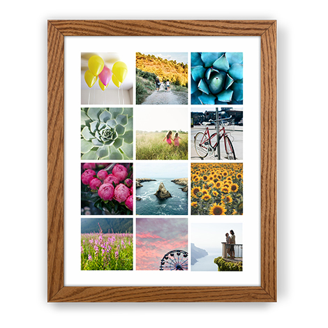 FRAMED LARGE PRINT, 11x14