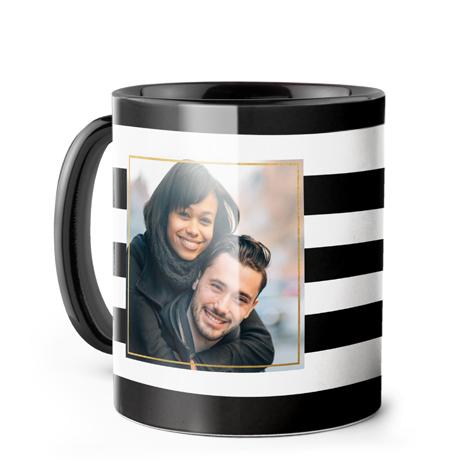 Photo Coffee Mug, 11oz., Black