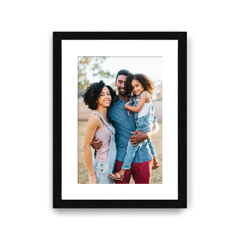 Framed Matted Print