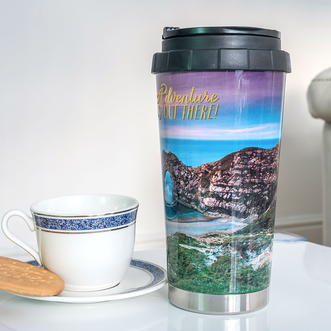 travel mug 16oz travel mug mugs gifts snapfish uk
