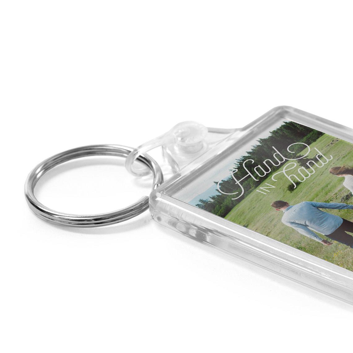 1 7x2 3 photo acrylic keyring 4 3x5 8cm keyrings photo gifts