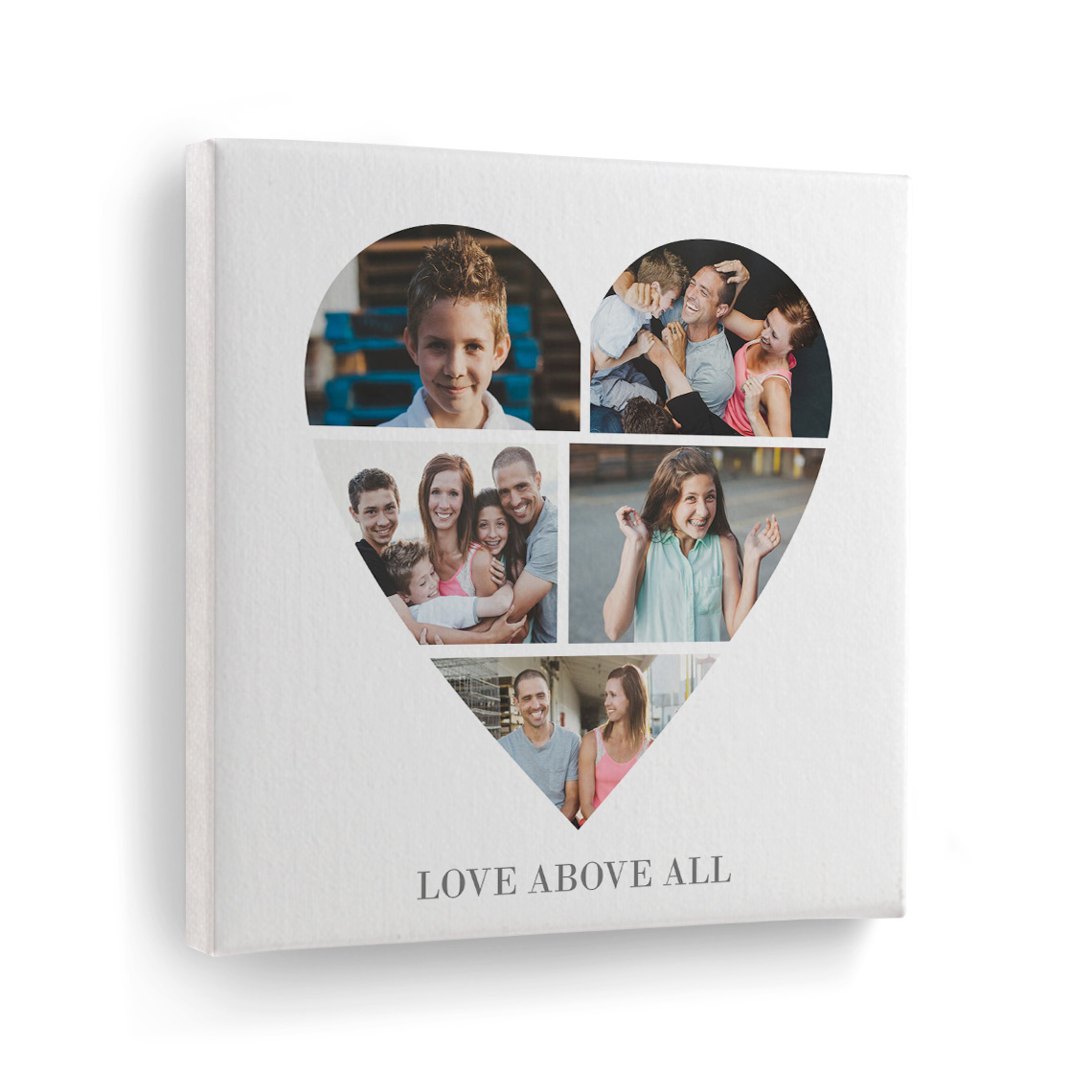 SQU 8 x 8 Inch Print on Canvas Print Your Personalised Photo Picture Personalised Art