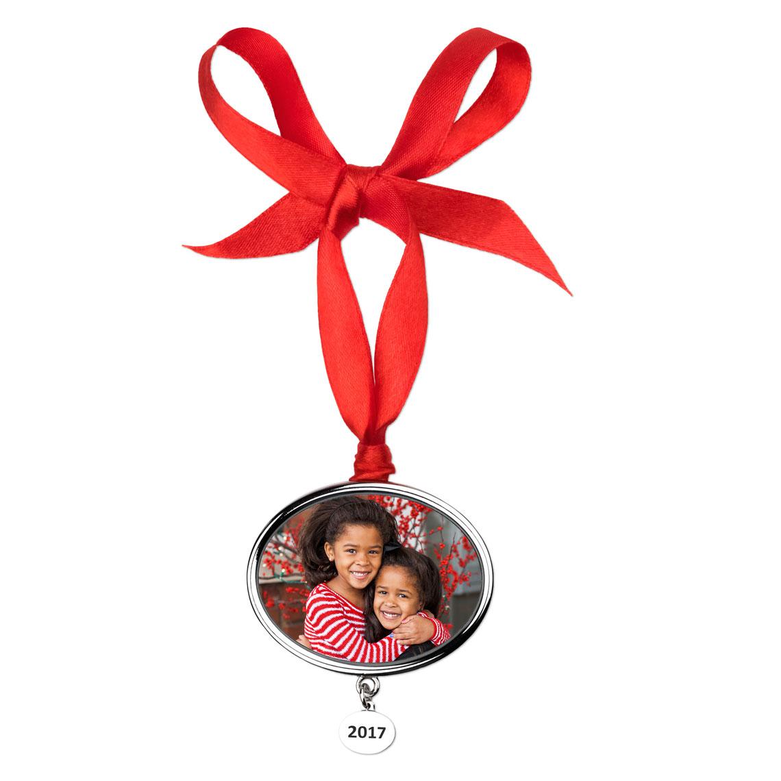 2017 christmas photo ornament christmas ornaments and decor
