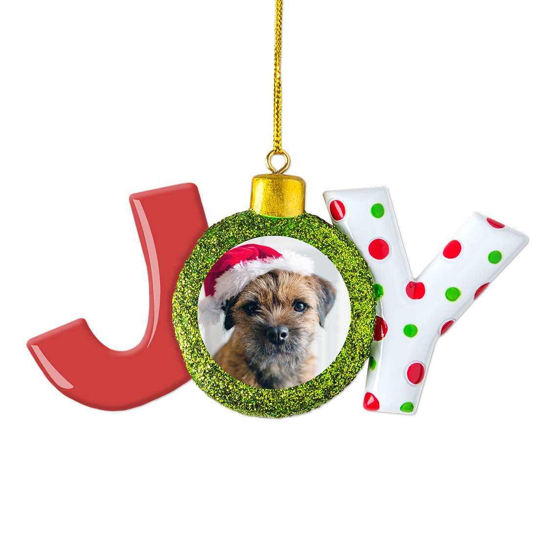 joy christmas ornament - Animal Christmas Decorations