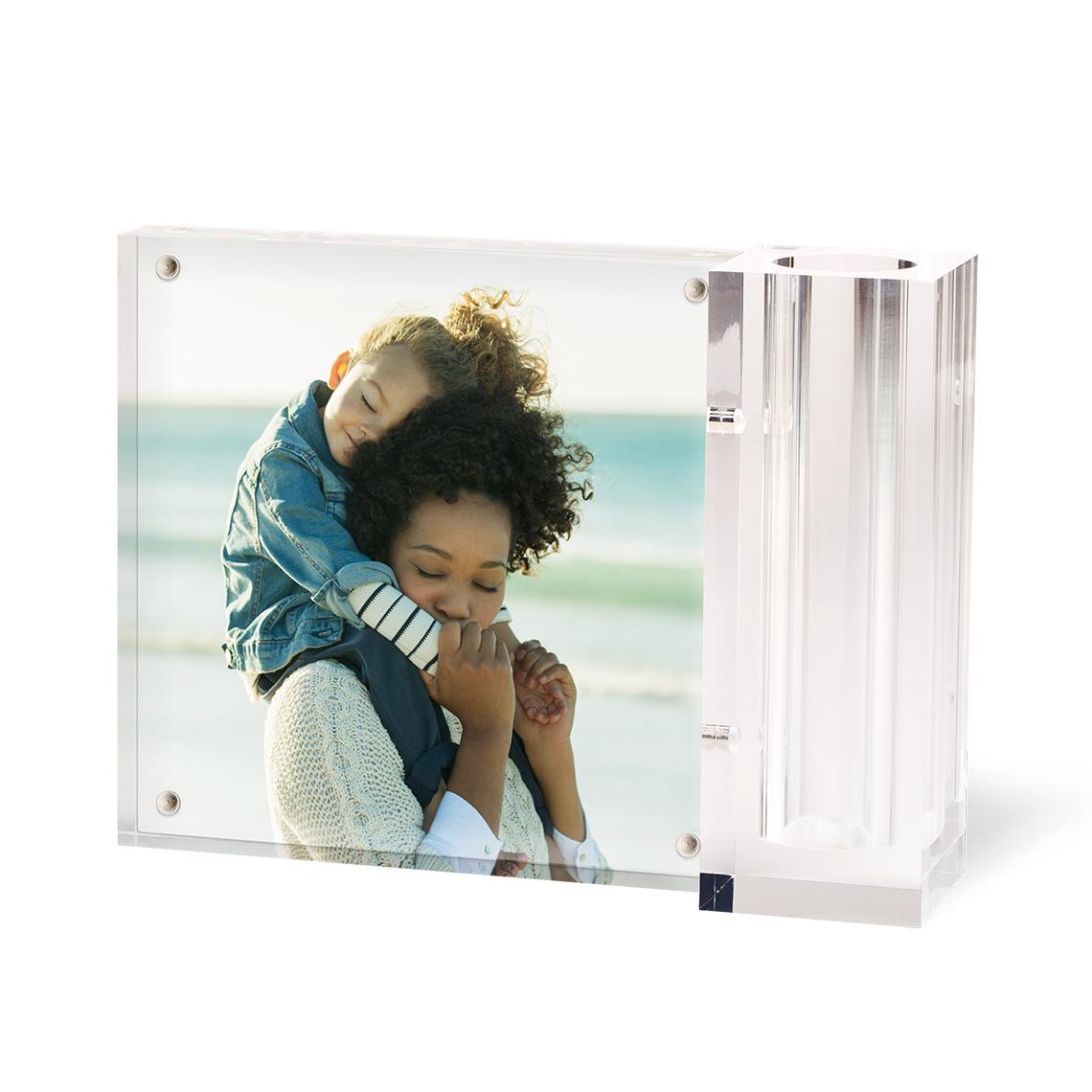 Personalized Acrylic Photo Desk Set Acrylic Deskset Home Gift