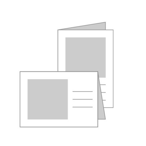 "5x7"" (12.5x17.5cm) Greeting Cards"