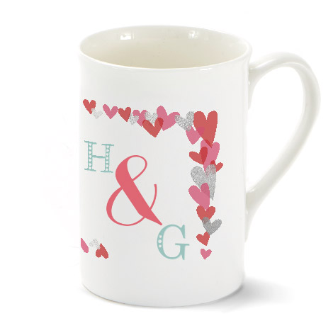 Bone China Porcelain Photo Mug