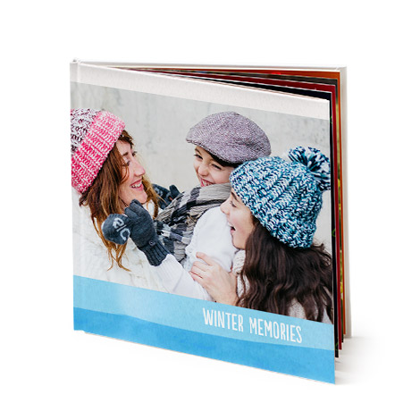 "12x12"" Square Hardcover Layflat Photo Book"