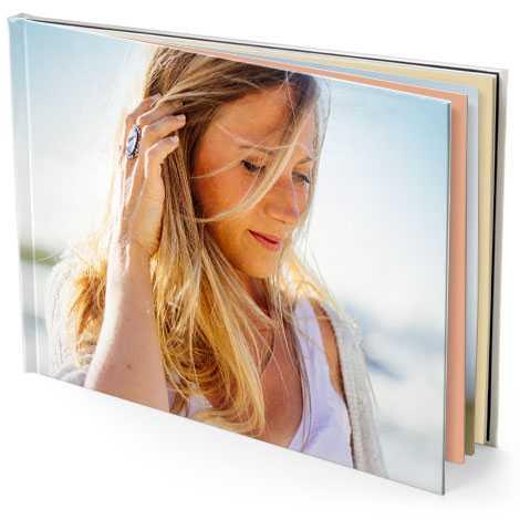 "15.5x11"" Landscape Photo Book (A3)"