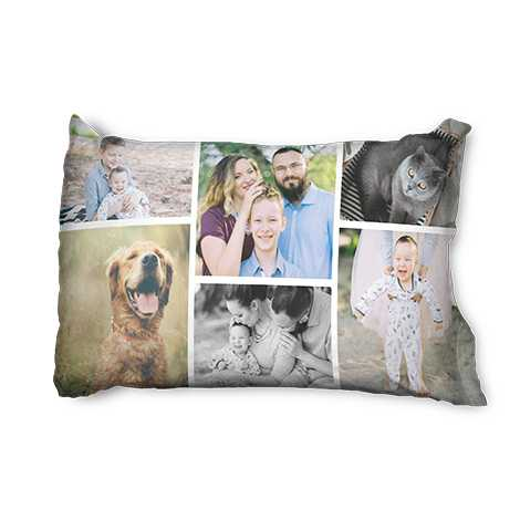 Custom Collage Pillowcase