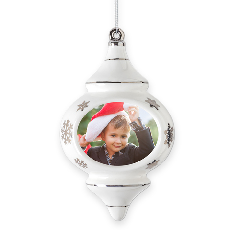 Finial Christmas Ornament
