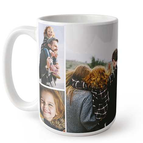 Collage Photo Coffee Mug, 15 oz.