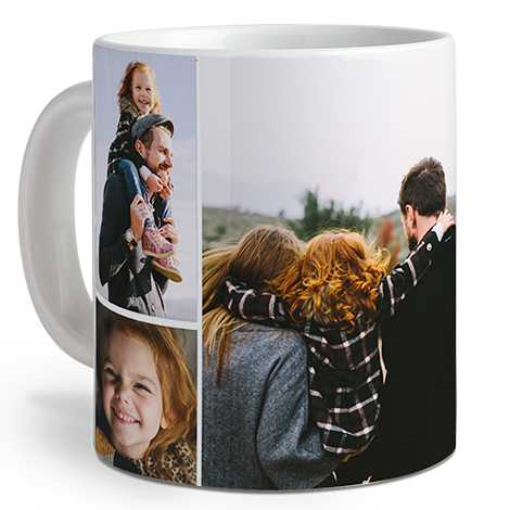 Collage Photo Coffee Mug, 20 oz.