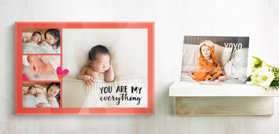 Tabletop & Acrylic photo prints