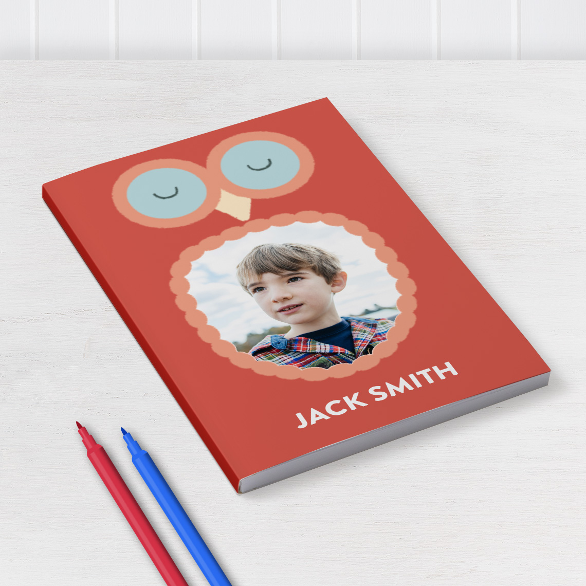 Softcover Notebooks with your Photos and Text   Snapfish UK