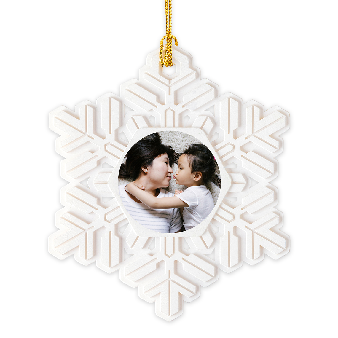 Snowflake Christmas Ornament | Christmas Ornaments and Decor | Gifts ...