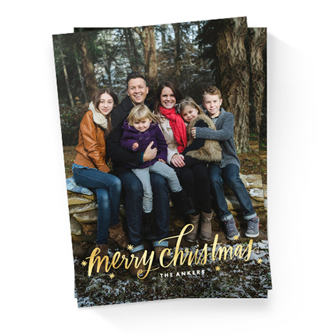 Send Christmas + Holiday Cards
