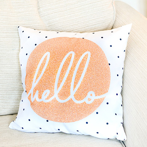 Cushions with Embellishments