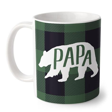 Papa Bear Plaid