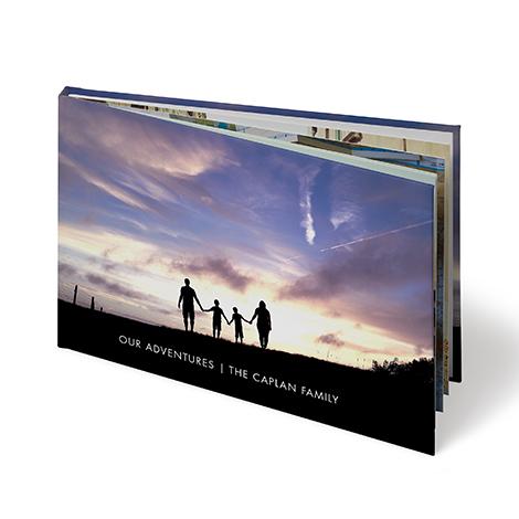 "8x6"" Landscape Hardcover Layflat Photo Book (A5)"
