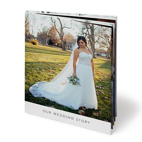 "8x11"" Portrait Hardcover Layflat Photo Book (A4)"