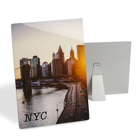 Tabletop Metal Photo Prints