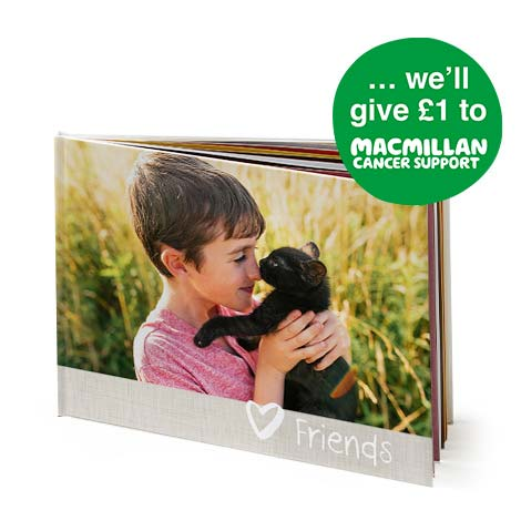 "11x8"" Landscape Photo Book (A4) - Macmillan"