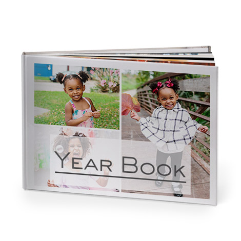Yearbook photo albums