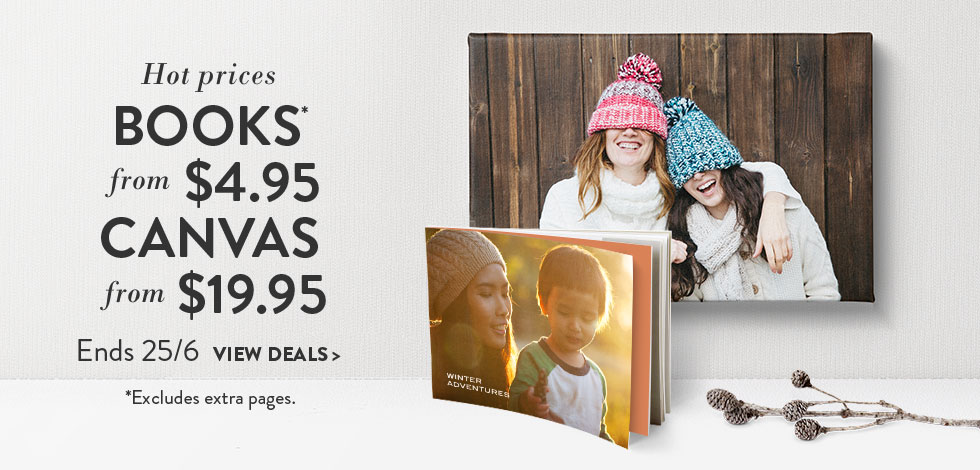 View Book and Canvas deals (below)