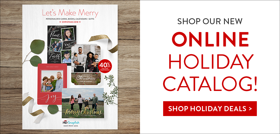 SHOP OUR CHRISTMAS + HOLIDAY CATALOG ONLINE