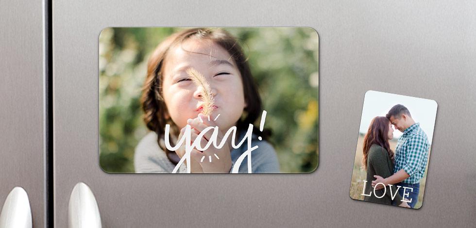 Flat Photo Magnets