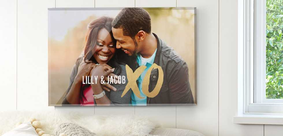 Rectangular Wall-Mounted Acrylic Photo Prints