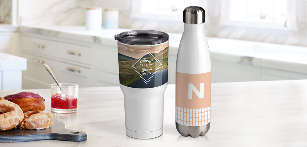 New insulated tumblers and water bottles