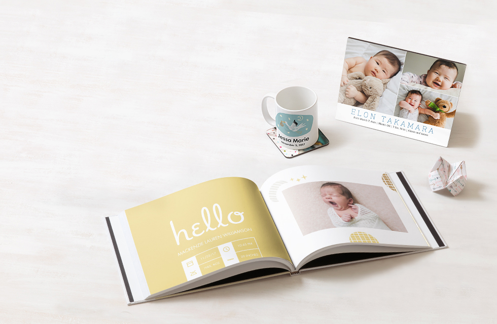 NEW BABY PHOTO GIFTS