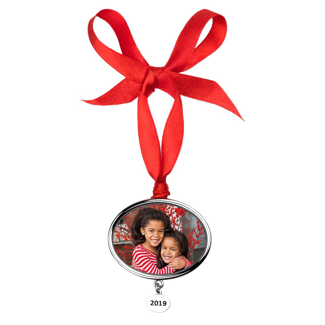 Ornaments Christmas.2019 Christmas Photo Ornament