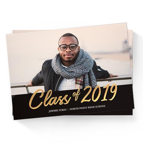 Foil Graduation Cards