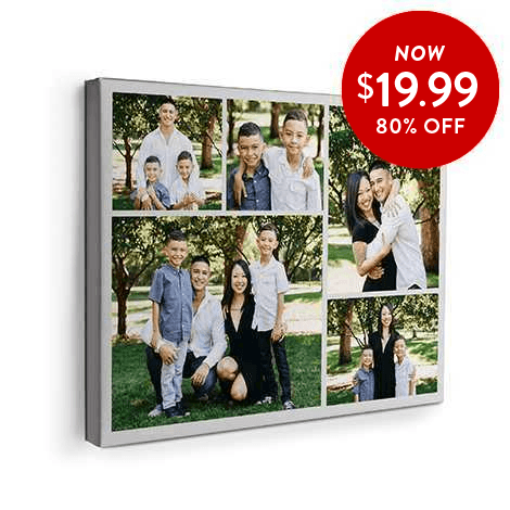 80% off 16x20 Canvas Prints
