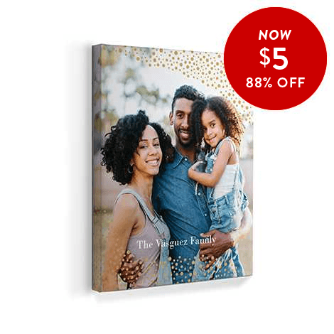 88% off 8x10 Canvas Prints