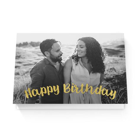 Happy birthday to girlfriend card