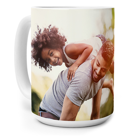 Photo Coffee Mug, 15oz