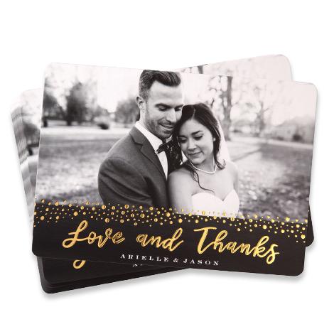 Embossed Foil Cards