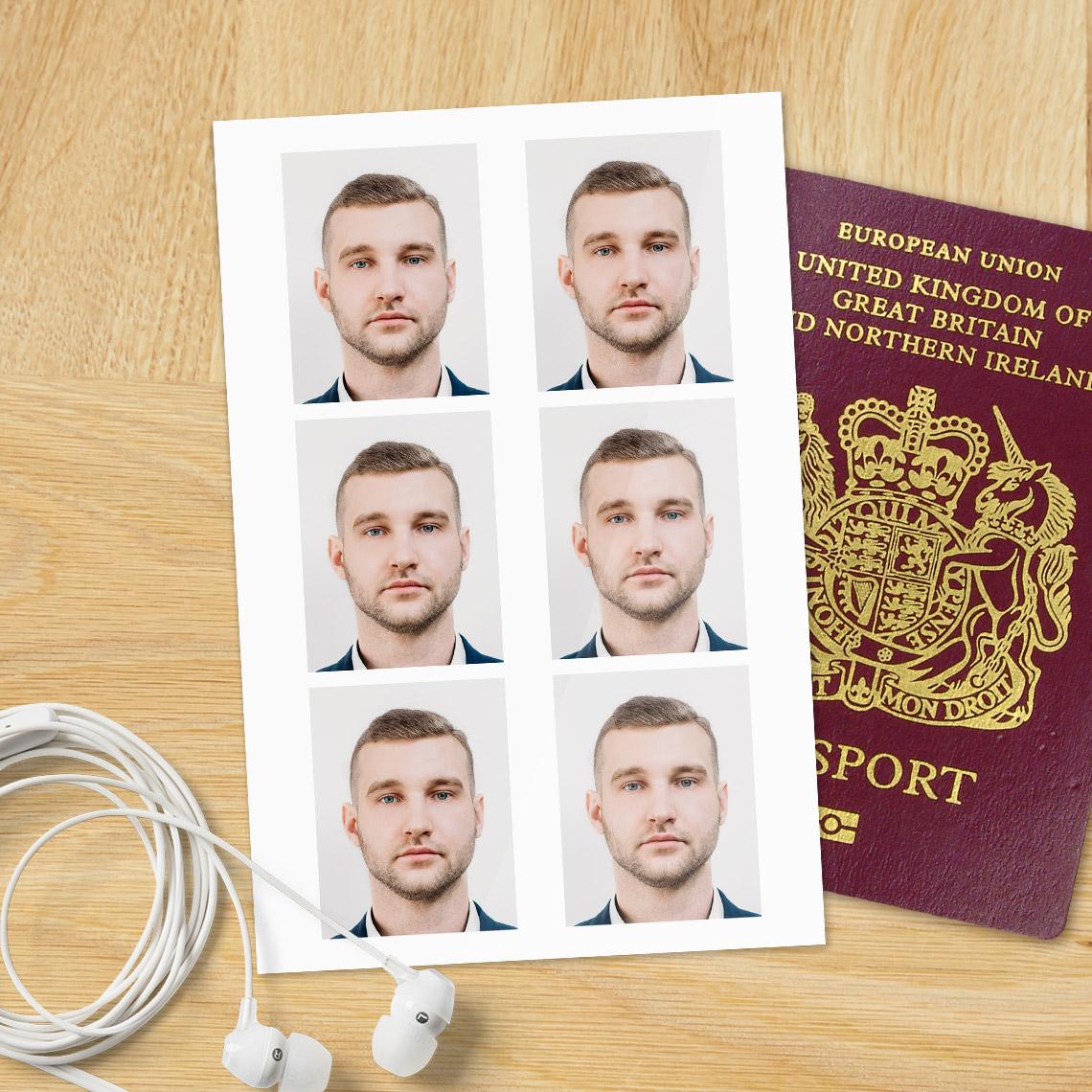 Digital Passport Photos Print Passport Photos Snapfish Uk