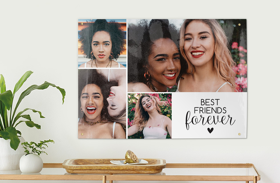 Create stunning, unique wall Art with your precious photos