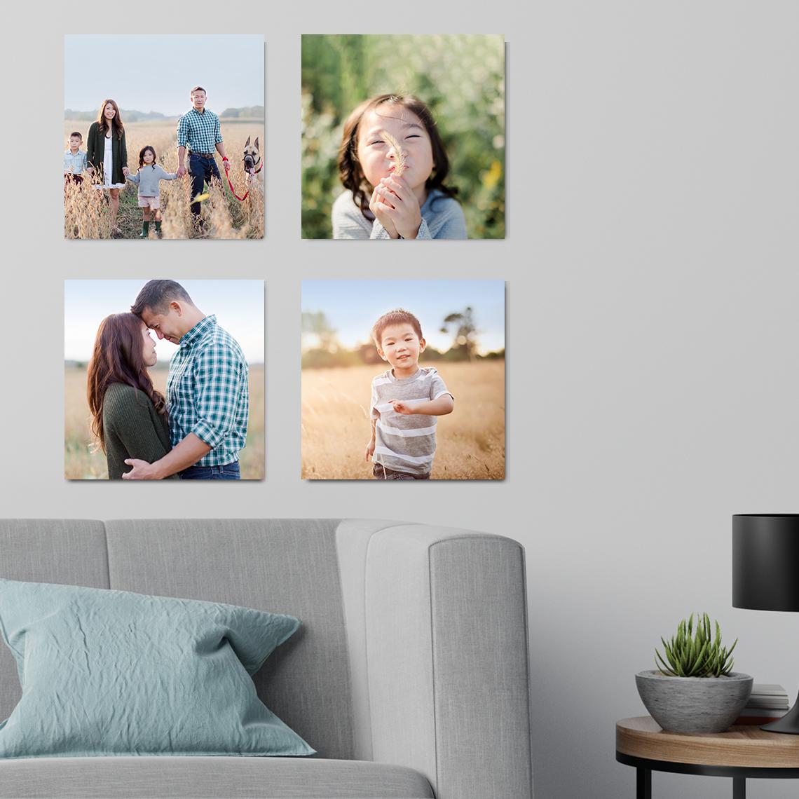 Create 8x8 Photo Tiles | Custom Home + Wall Décor | Snapfish US