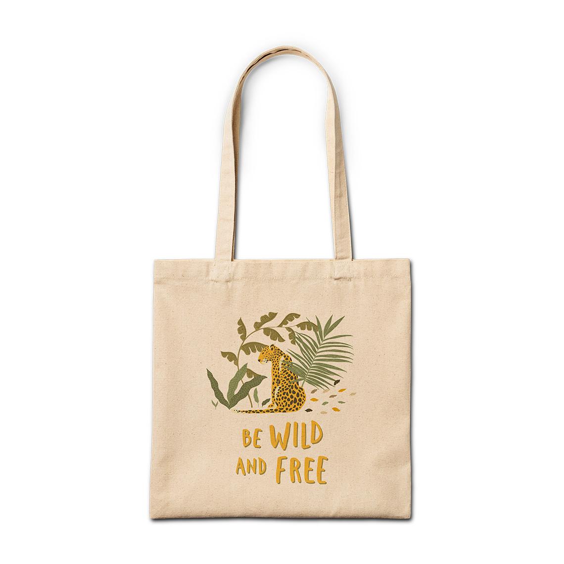 Canvas Bag Beautifully Wild Unicorn Tote Bag