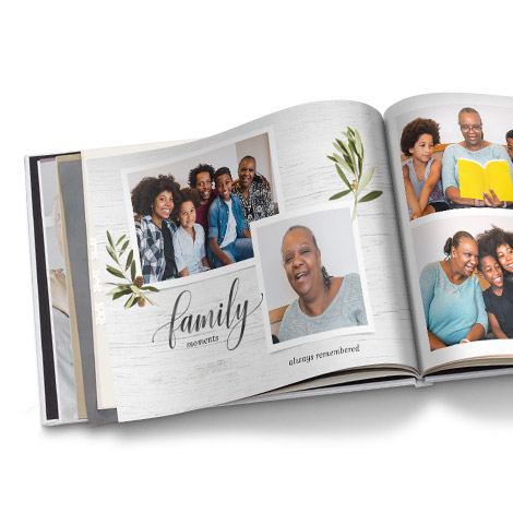 Family Farmhouse Photo Book
