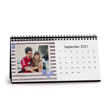 Pressed Flowers Desk Calendar