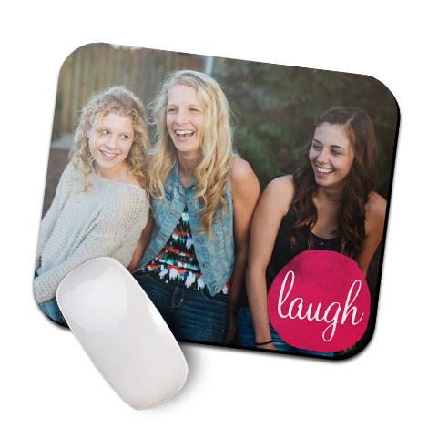 Bright Laugh Mouse Mat