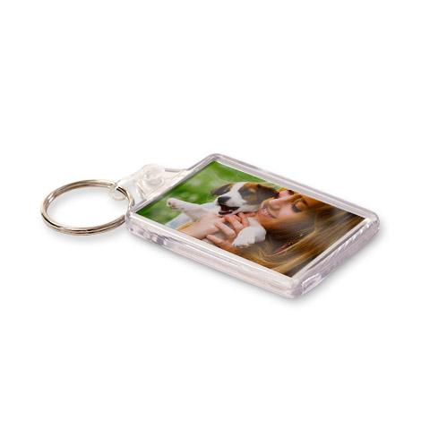 Photo Acrylic Keyring